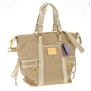 Coach Poppy Signature Sateen Bag 13843